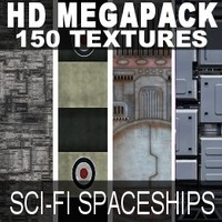HD Megapack 150 spaceship Hulls
