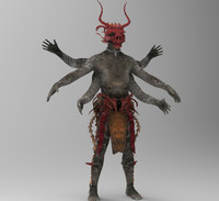 3d model kali tribe