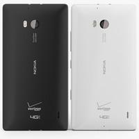 nokia lumia icon - 3d obj