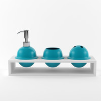 3ds max bathroom accessories set 05