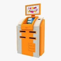 cash terminal 2 3d max