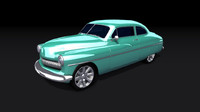 3ds max mercury coupe 1949