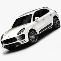 2015 porsche macan interior 3ds