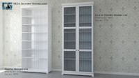 ikea liatorp bookcases 3ds
