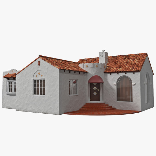 3d model of Spanish House by 3d_molier: Collection of 3D