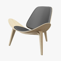 3ds max chair hans j wegner