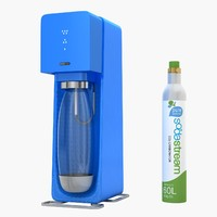 sodastream source blue 3d model
