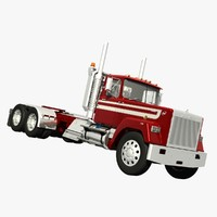 mack superliner daycab 3d lwo