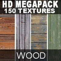 HD Megapack 150 wood textures