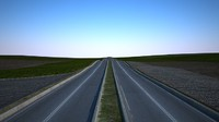 3d model road