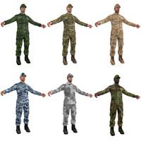 3d sergeant pack