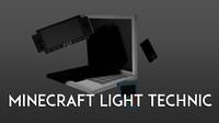 minecraft technic light 3d model