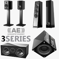 3d model acoustic energy 3 series