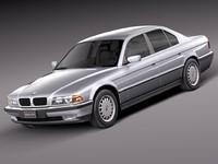bmw 1994 series 3d model