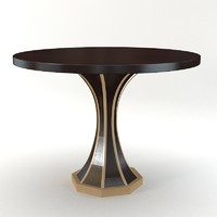 Black & Key - Arabesque table
