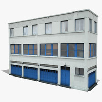3ds industrial building 3