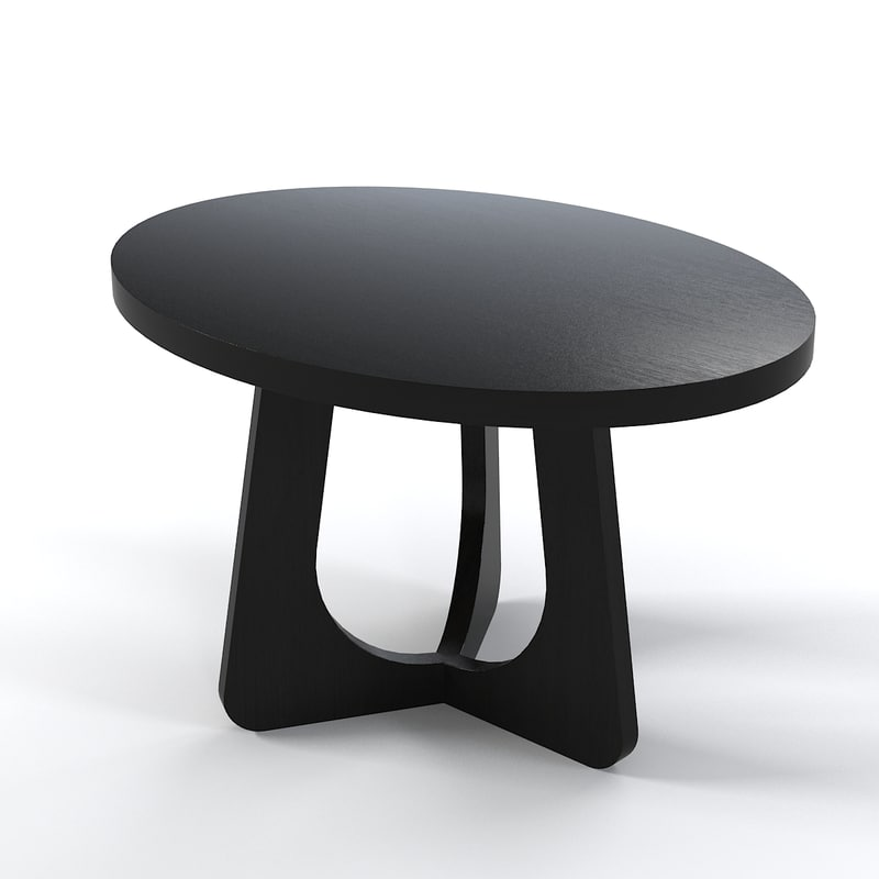 Christian Liagre Oval Side coffe table modern contemporary wood0001.jpg