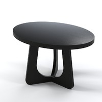 christian oval table 3ds