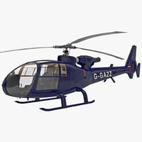 Gazelle Helicopter