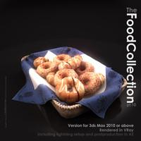 3d model food standard