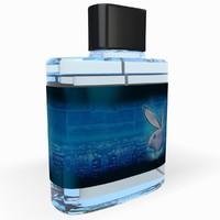 super playboy perfume 3d model