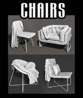 3d chair cloths