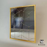 mirror modern dxf