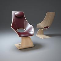 sculptural-dream-chair 3d max