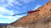 spear 3d model