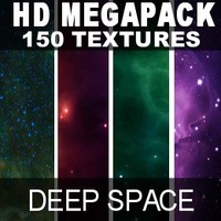 HD mega Pack, Star Fields 150 HD textures