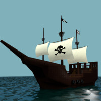 obj pirate ship