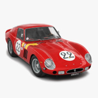 race car 3D models