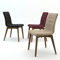3d modern design dining chair