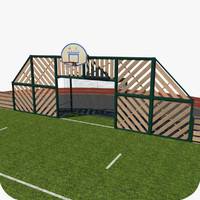 multisports stadium 3d model