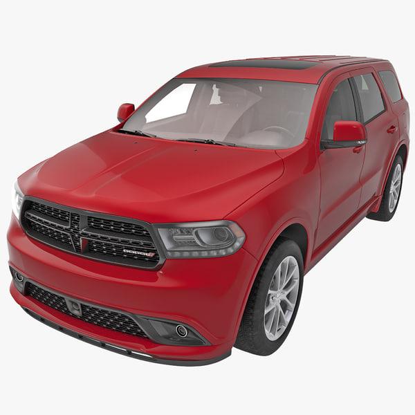 Dodge Durango 2014 sports utility vehicle fullsize full-size auto automobile transport transportation sport vray