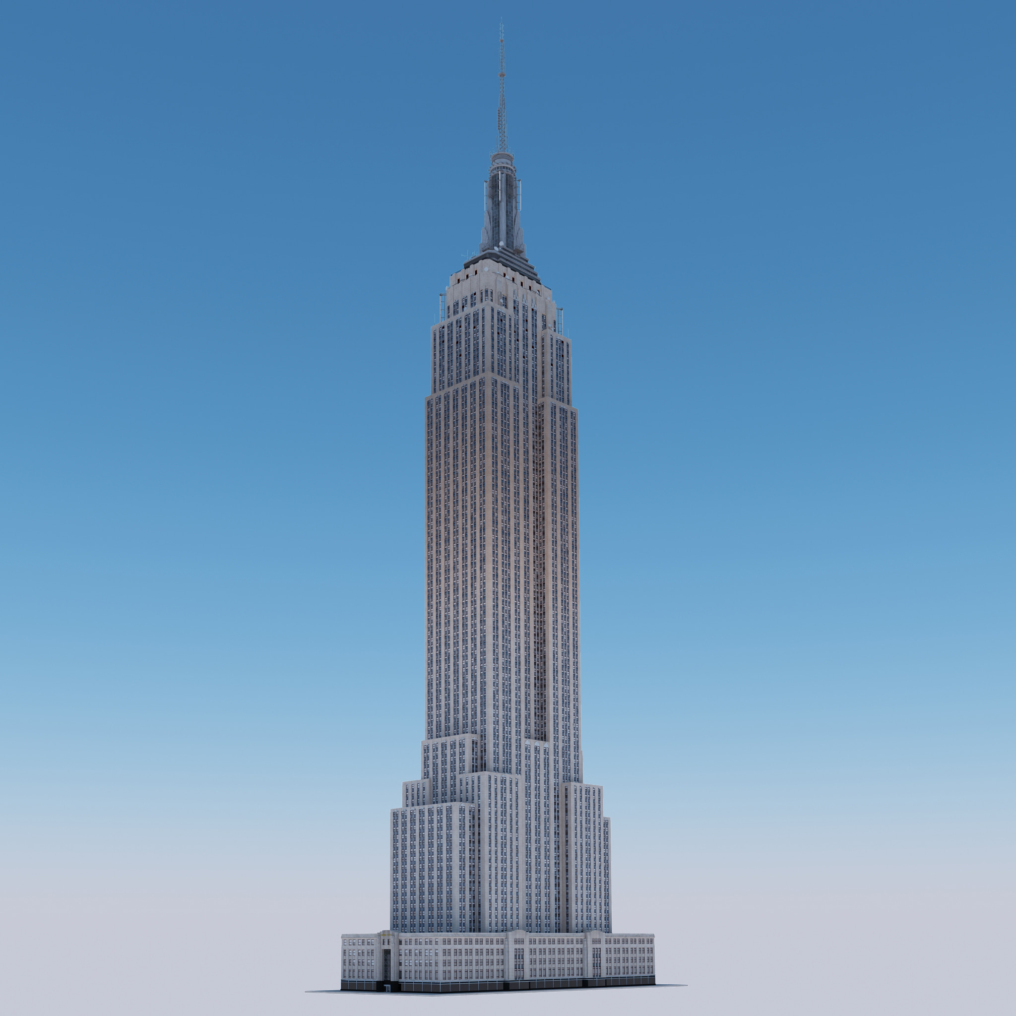 Animated Picture Of The Empire State Building