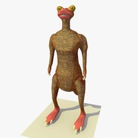 3ds max mutant kangaroo alien