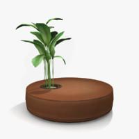 3d planter seat