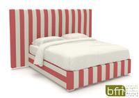 italian bed 3d max