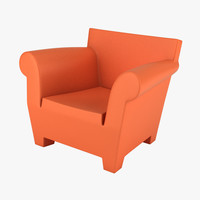 kartell bubble club chair 3d max