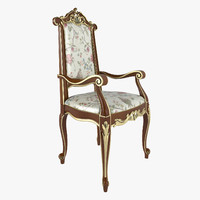Chair With Armrests Modenese Gastone Art 12502