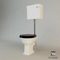 devon toilet 3d obj