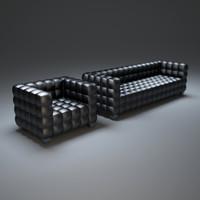 hoffmann-josef-sofa