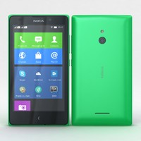 Nokia XL and XL Dual Bright Green