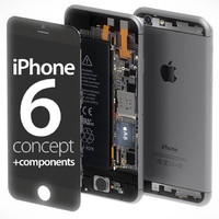 maya iphone 6 components