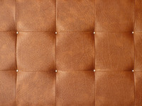 Brown leather upholstery texture