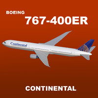 boeing 767-400er continental airlines max