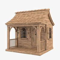 Small Wooden House.