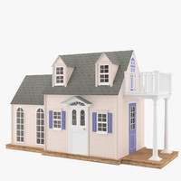 USA Wooden Planks House
