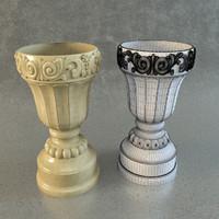 classical vase 3d 3ds
